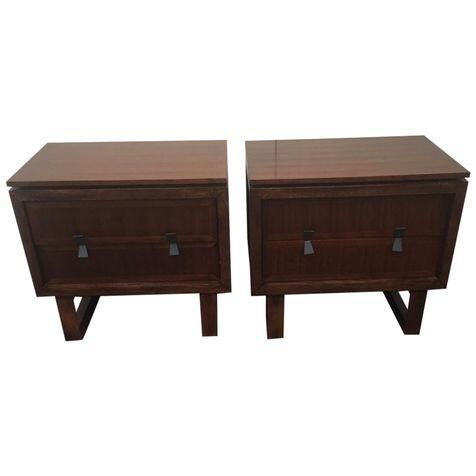 Zocalo Elevation Nightstands   A Pair On Chairish.com