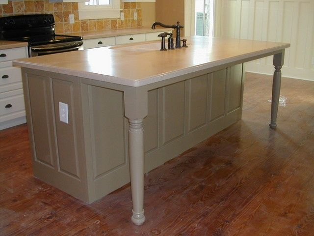 Working On Unfinished Kitchen Island Legs Interior Design Ideas Dekor