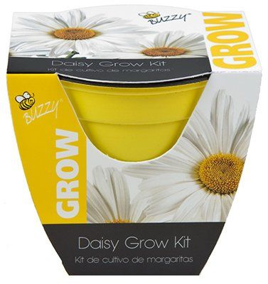 Buzzy Daisy Grow Kit You Can Get More Details By Clicking On The Image This Is An Affiliate Link Indoorgardeningh Grow Kit Plastic Pots Lawn And Garden