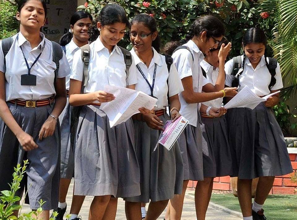School Girls In Chennai  Places-Beautiful  Beautiful -3703