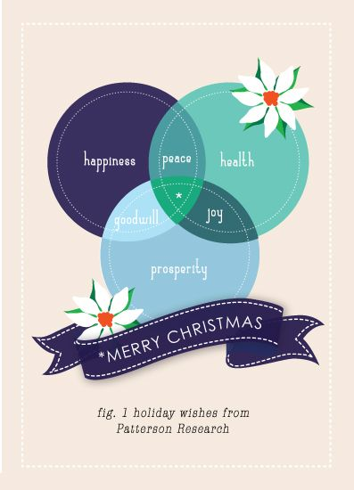 Business Holiday Cards A Venny Merry Christmas By Bonjour Berry