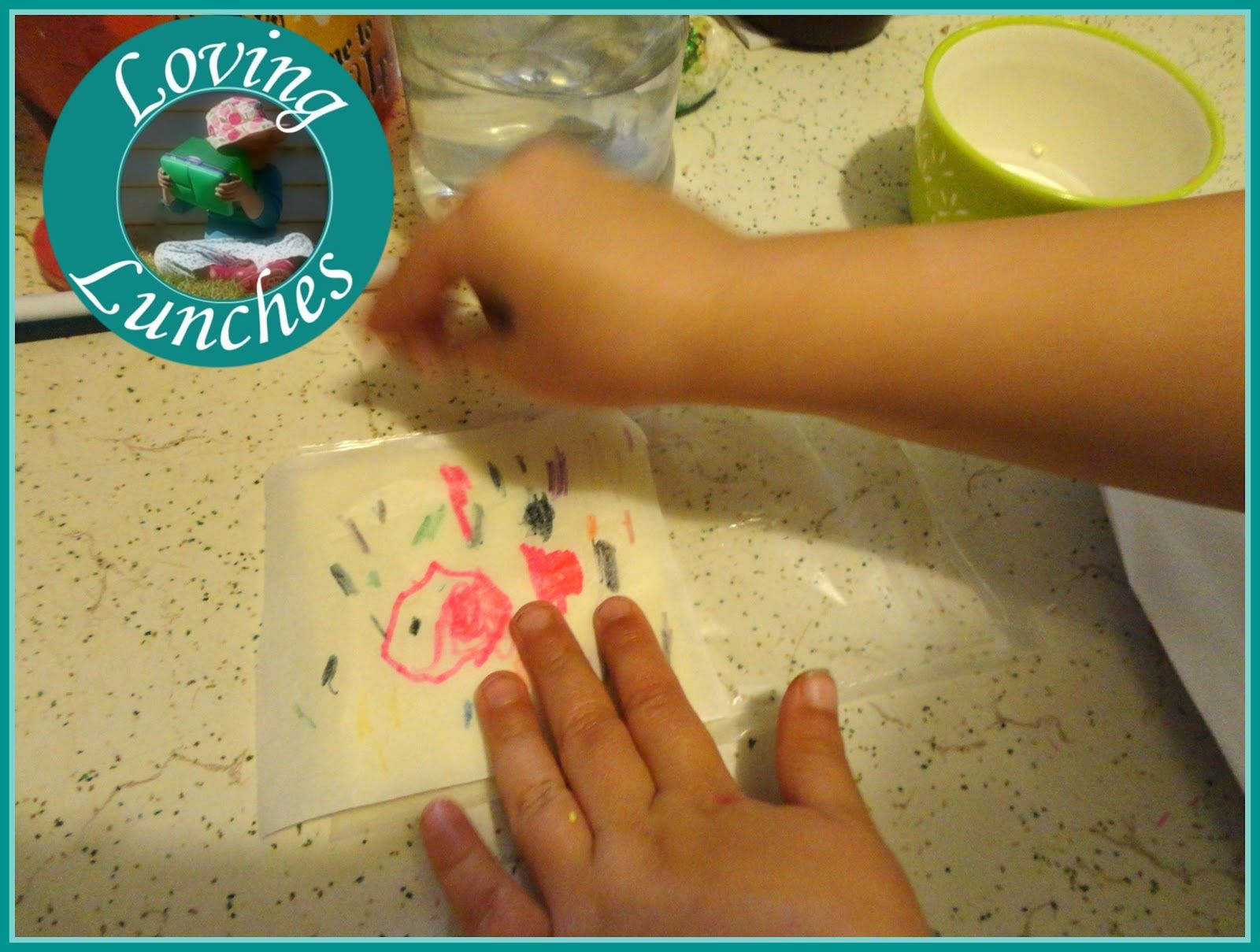 Thunder and the House of Magic Lunches kids in the kitchen cheese art