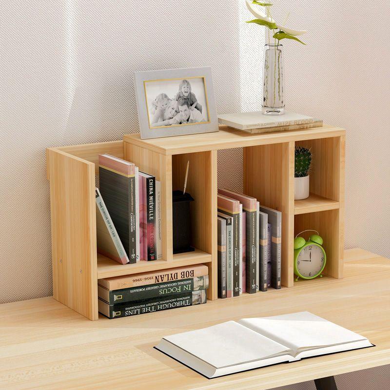 简易桌上置物架学生小书架办公桌创意整理收纳架可伸缩桌面书架子 淘宝网 Small Office Storage Small Bookcase Bookshelf Desk