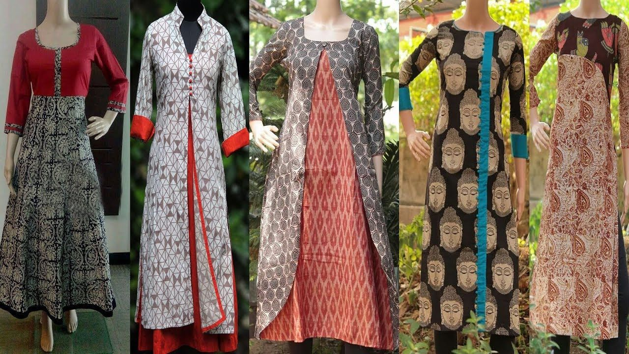 4a78ce60d4288c Top Beautiful Designer Kurta Kurti Designs 2017