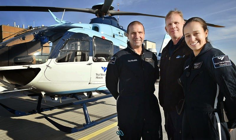 New YaleNew Haven Hospital helicopter equipped for