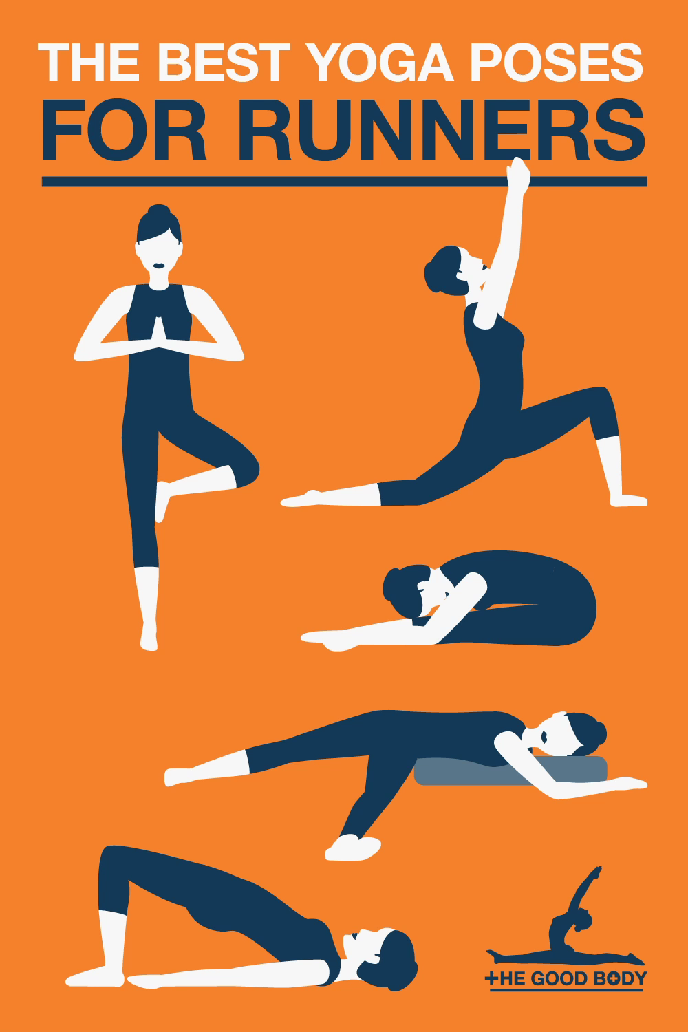 10 Best Yoga Poses For Runners Essential Stretches For Pre And Post Running Video Video Cool Yoga Poses Running Stretches Running Muscles