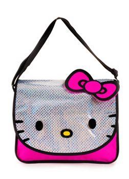 Hello Kitty Glitter Messenger Bag  b9cf95b0cfe67