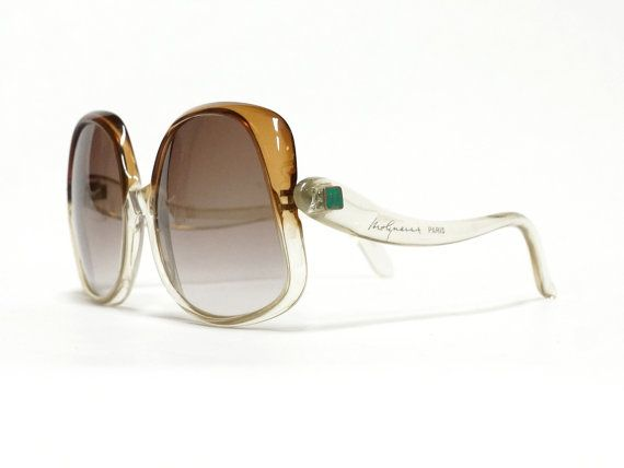 Molyneux vintage sunglasses - 1970s oversized sunglasses in NOS condition made inFrance