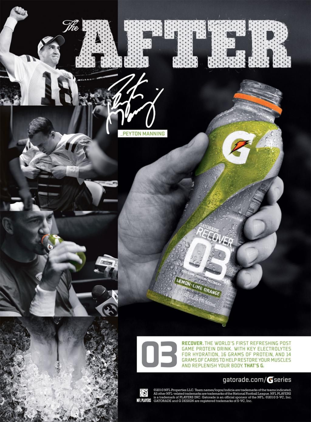 Gatorade Magazine Ad Slae1025 Spring14 Week 05