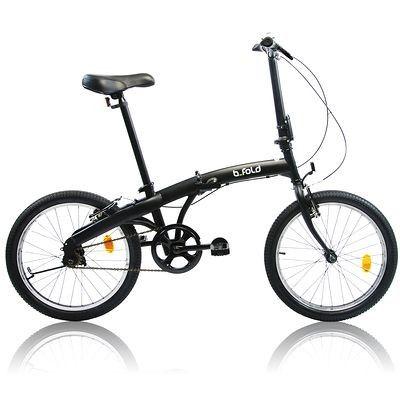 c0d782fac40 DECATHLON BICICLETA PLEGABLE BFOLD 3 Concebido para paseos OCASIONALES por  carretera y guardado fácil. La bicicleta plegable, 159€95