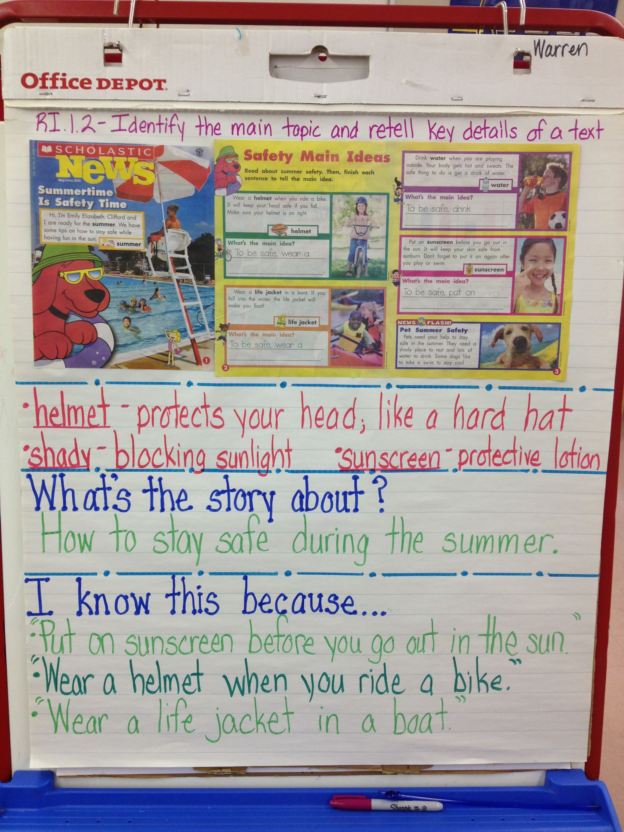 Pin By Alina Warren On Anchor Charts First Grade Reading Reading Workshop Reading Comprehension Strategies [ 3264 x 2448 Pixel ]