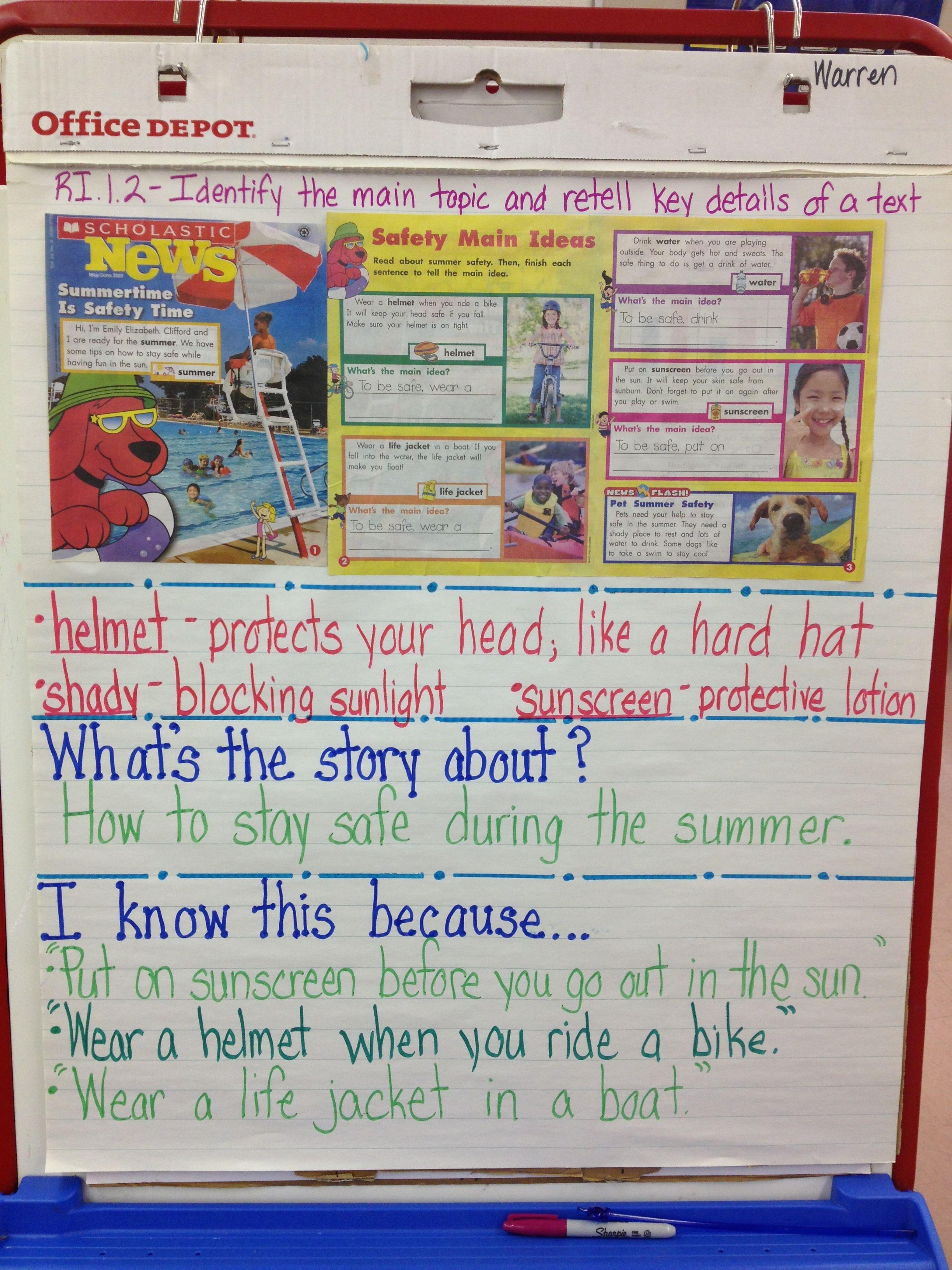 Scholastic News Article