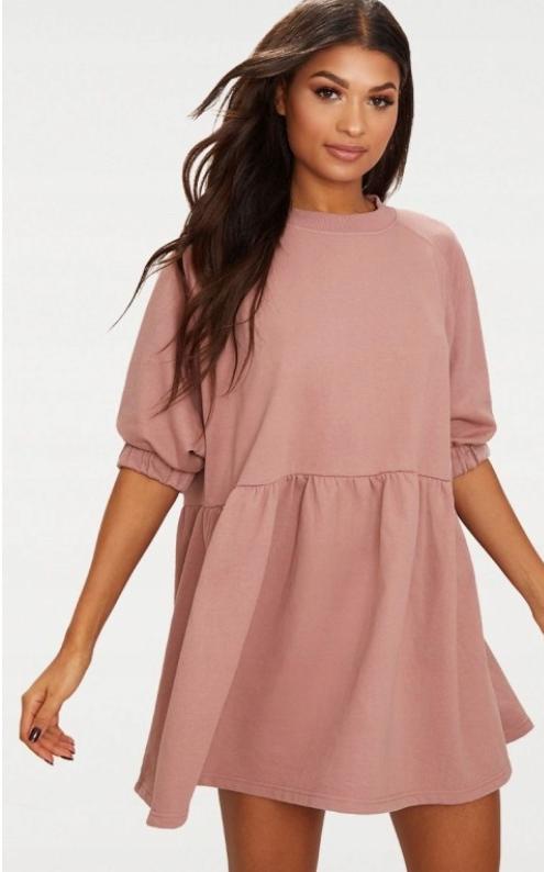22m155 Prettylittlething Pxb Sukienka Dresowa Xl 8142195043 Oficjalne Archiwum Allegro Ladies Day Dresses Dresses Hoodie Sweatshirt Dress