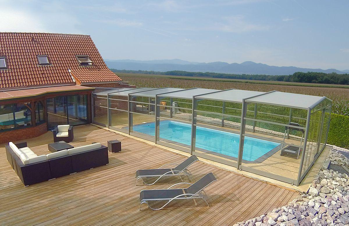 Abri Haut Angulaire Mural Pool Hot Tub And Spa En 2019