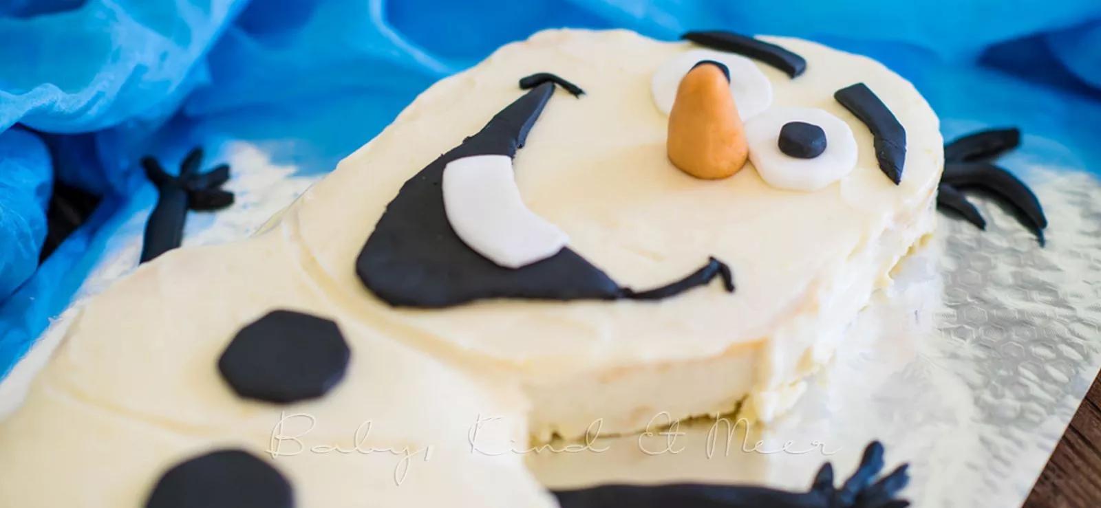 eiskÖnigin olaf cake  rezepte für familien kreatives
