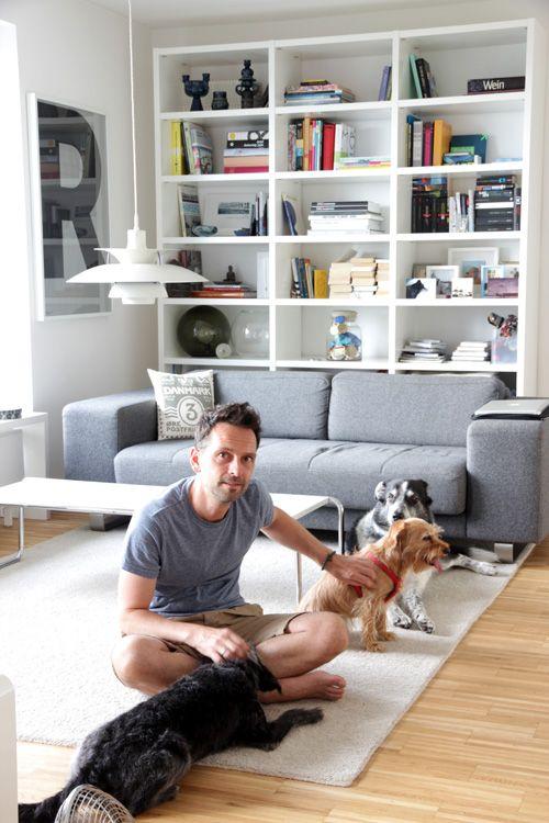 Zuhause bei Kreativdirektor Andreas Ruthemann Der Hunde
