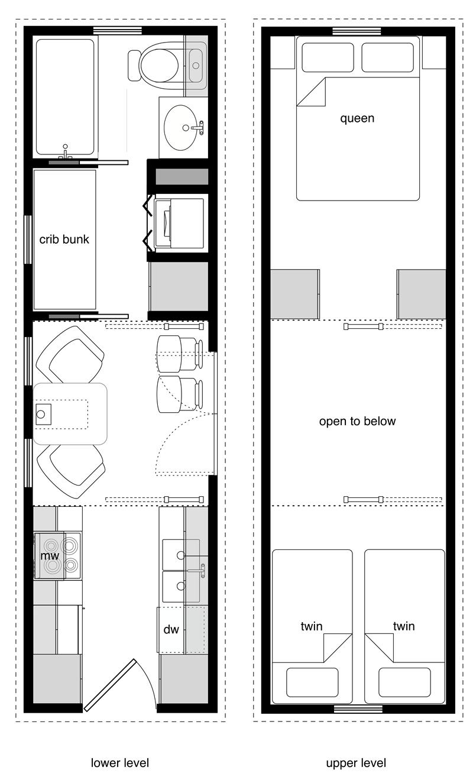 Family Tiny House Design Tiny House Floor Plans Tiny House Layout Tiny House Plans