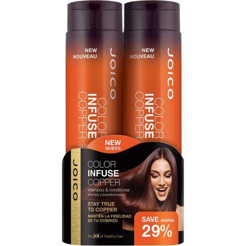 Joico Color Infuse Copper Shampoo Conditioner Duo Copper