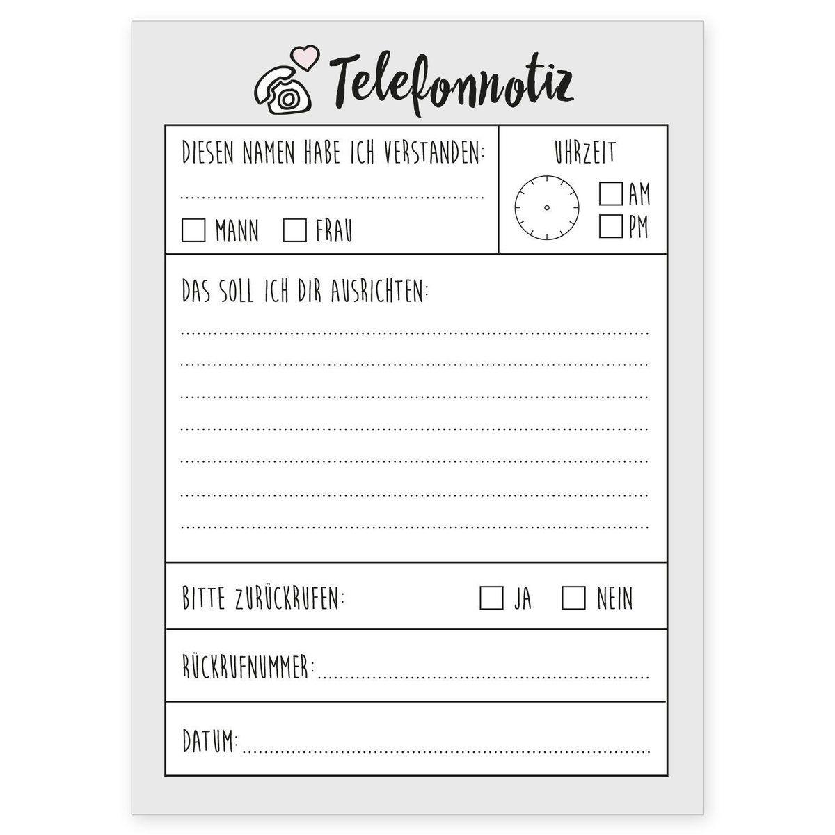 Der Telefonnotiz Block Ist Dein Neuer Alltagsheld Im Buro Vergesse Nie Mehr Einen Wichtigen Anruf Der Notizblock Ist 14 8 X 10 5 Notizblock Notiz To Do Liste
