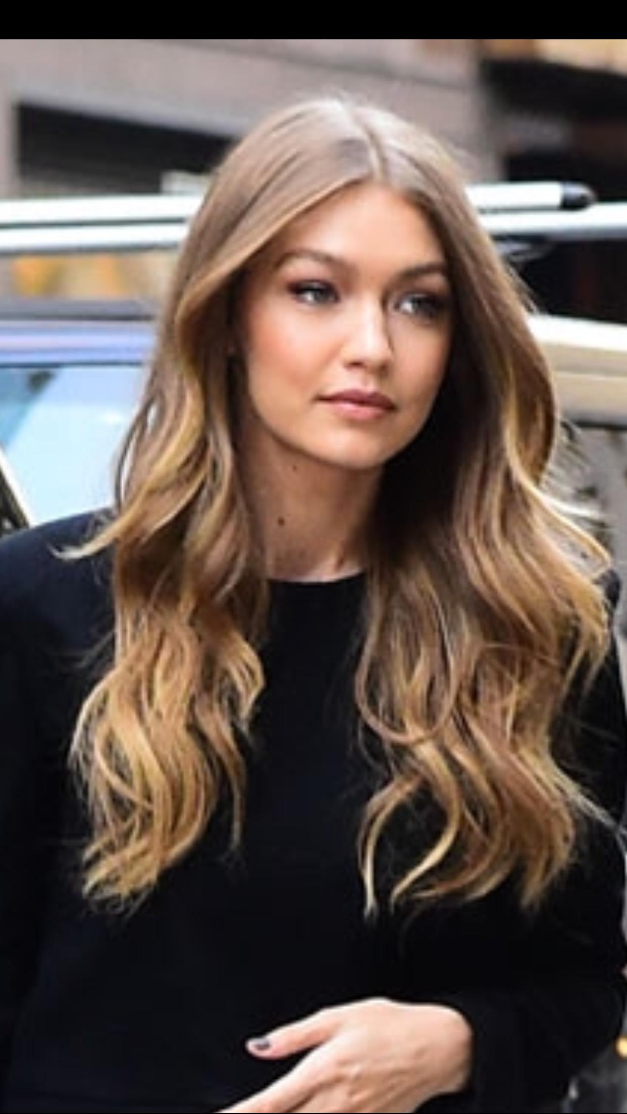 Baliage Hair Blonde Balayage Baliage Hair In 2020 Gigi Hadid Hair Color Baliage Hair Blonde Hair Color