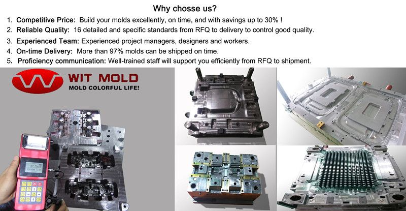WIT Mold Limited is a very professional mold maker  We