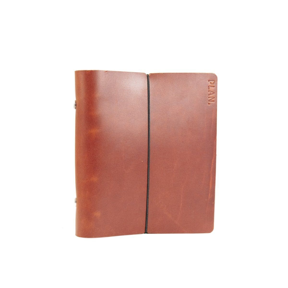 Refillable Planner, Leather