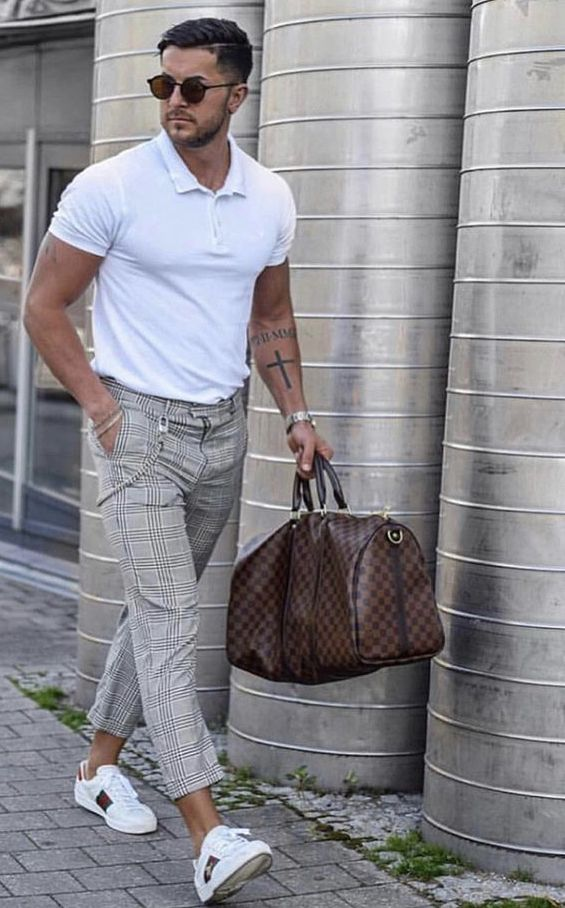 Pin De Fernando Badillo En Estilo Pantalones De Cuadros Hombre Ropa De Moda Hombre Traje A Cuadros