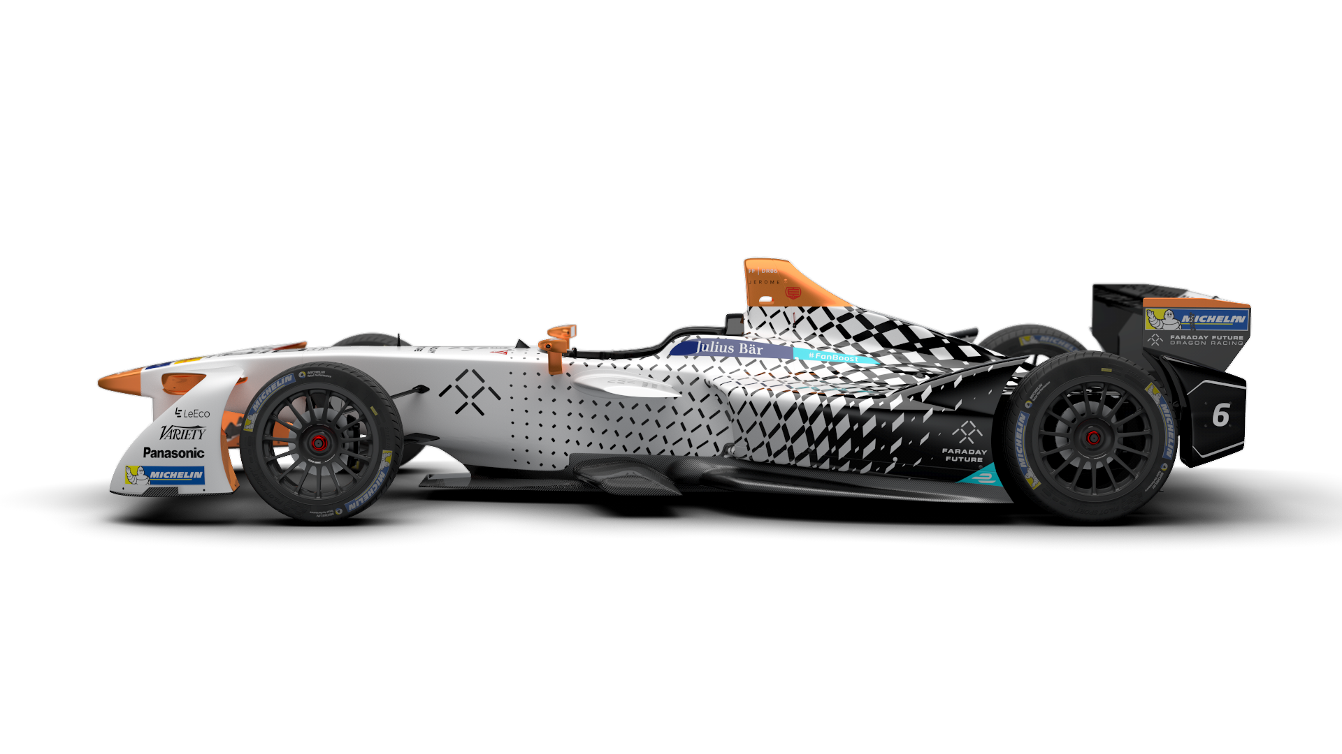 Faraday Future Dragon Racing Go Bold With New Livery Faraday