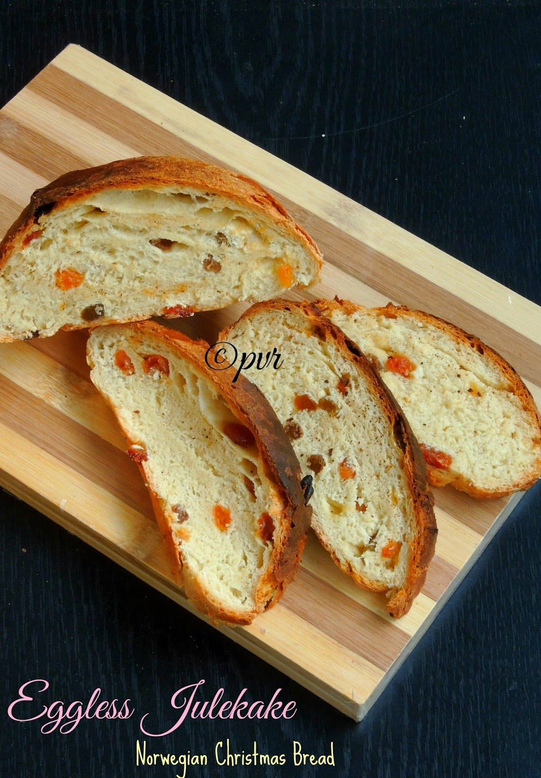Eggless Julekake - Norwegian Christmas Bread | Food | Pinterest ...