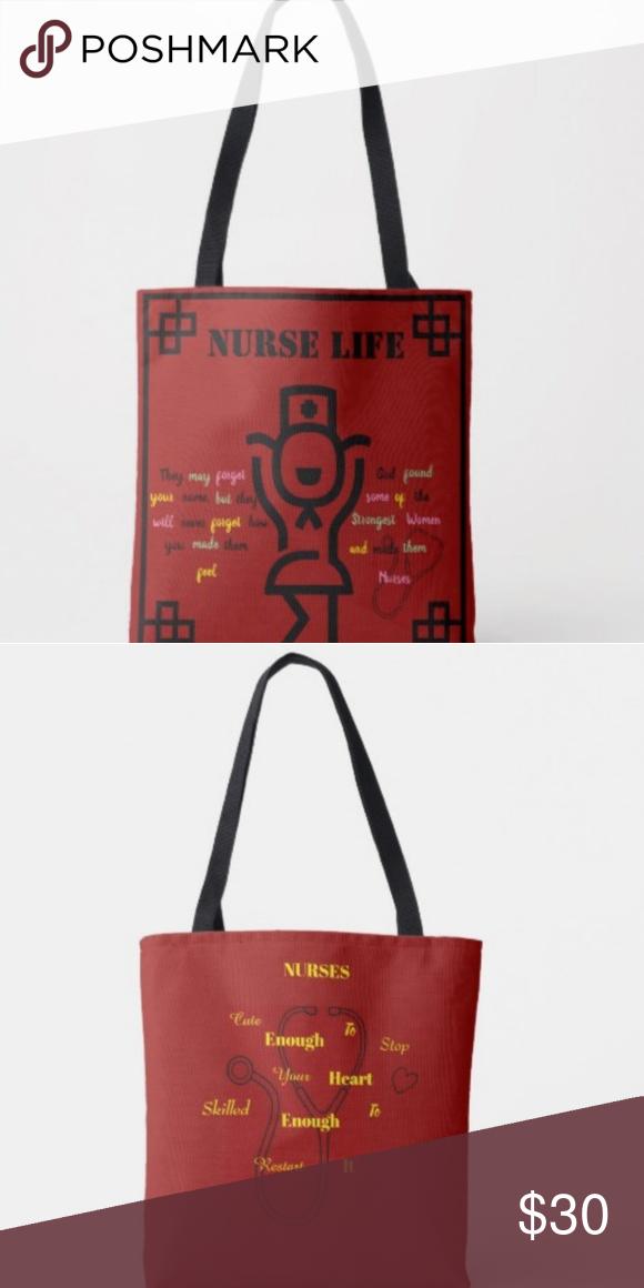 95c61de01f3e Custom Canvas Tote Nurse Life! Custom Canvas Tote. It s In The Bag! Custom  Canvas Creations by psuperfax Custom Made Bags Totes