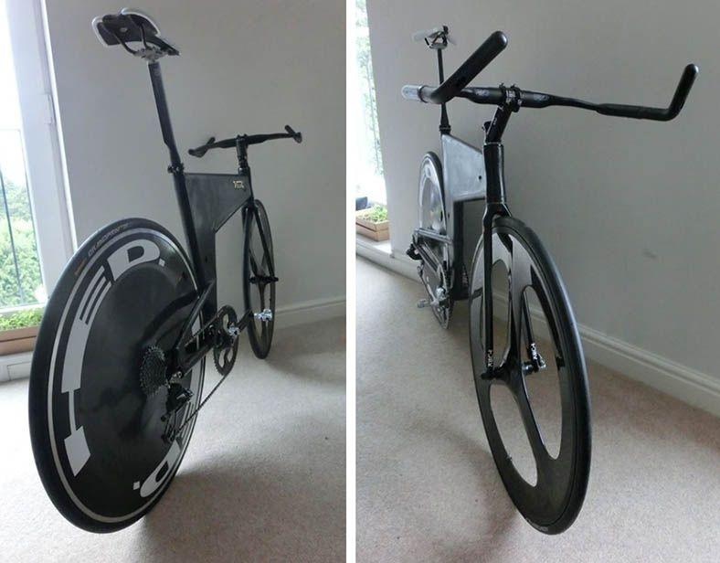 Velox Volcane A Home Built Carbon And Aluminum Tt Bike By Richard