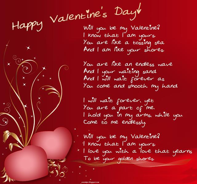 Happy Valentines Day 2017 Messages Valentines Day Poems Happy Valentine Day Quotes Valentine Messages For Boyfriend