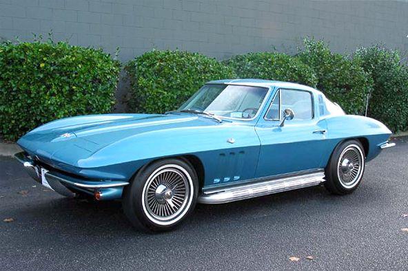1965 Corvette Stingray Coupe Blue Classic Corvette Corvette Corvette Stingray