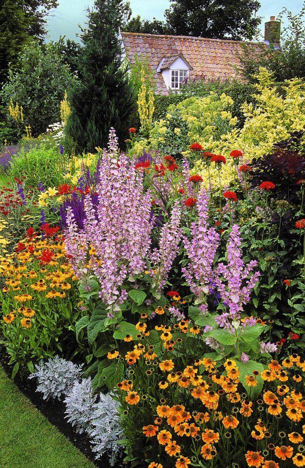Rabata Bylinowa English Garden Design Beautiful Flowers Garden Landscape Design