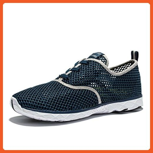 0367cbfa6dad0 Changping Men's Breathable Mesh Lace Up Quick Drying Aqua Water ...