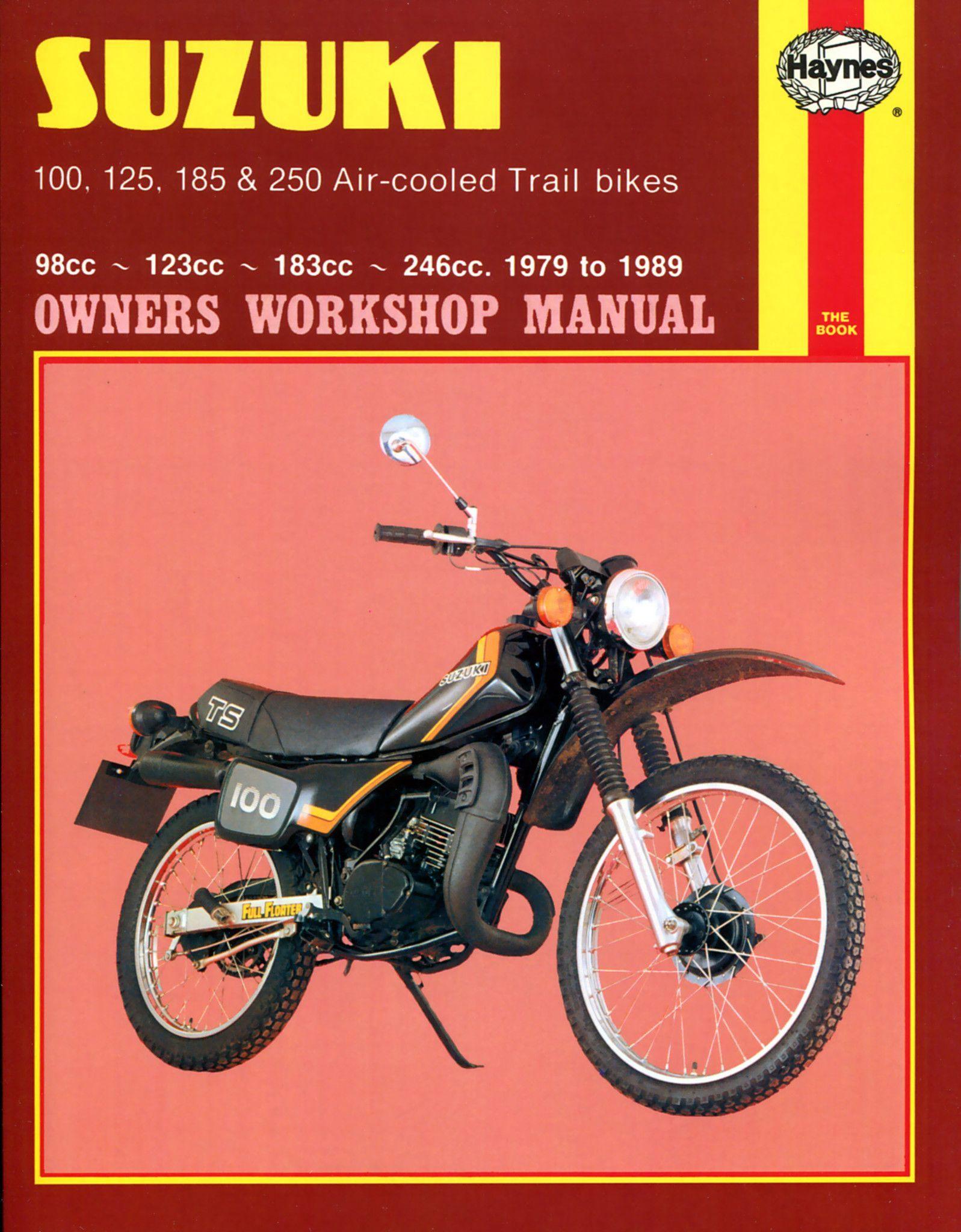 Haynes M797 Repair Manual for 1979-81 Suzuki TS Air-cooled
