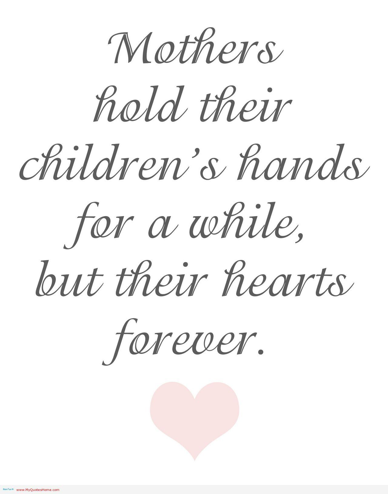 Mothers Love Quotes Mothers Hold Their Childrens Hands Mothers Love Quotes  Tattoo