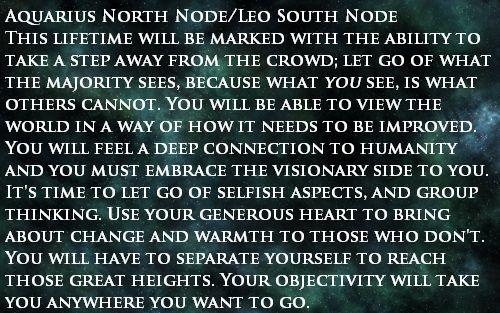 Aquarius North Node And Leo South Node Current Path And Karmic Past Virgo North Node Pisces Astrology Virgo