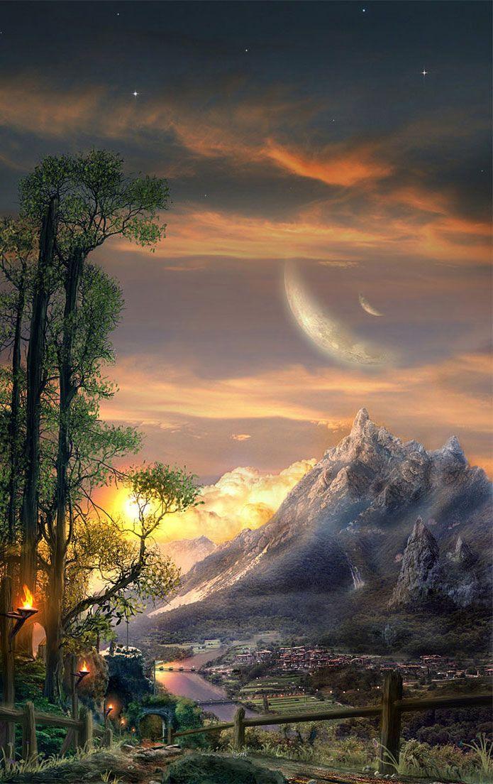 Breathtaking Fantasy Landscapes Scenery Fantasy Inspiration Fantasy Landscape Landscape Scenery Fantasy Inspiration