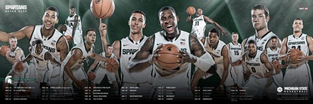 Michigan State Mbb Basketball Schedule Michigan State