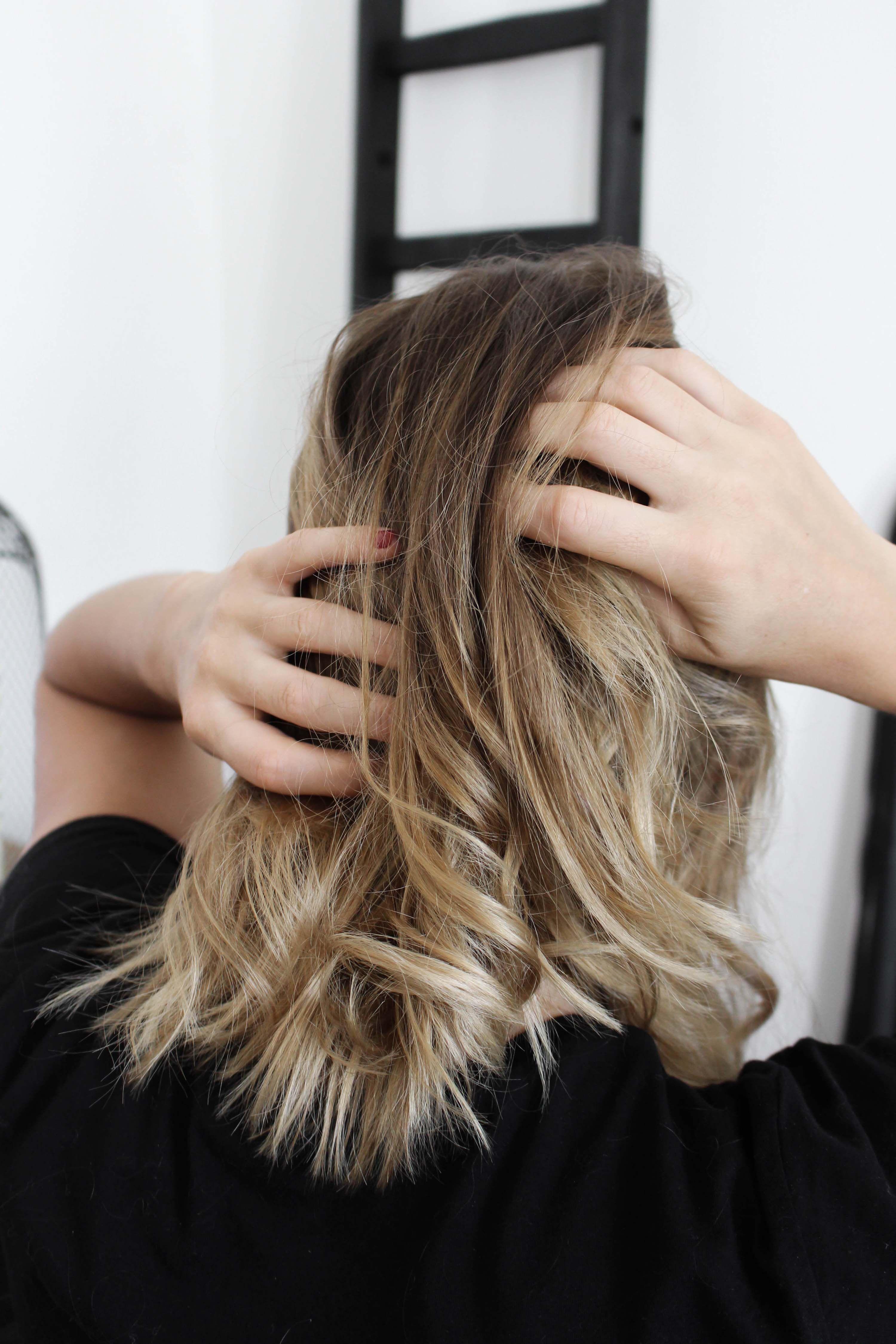 cheveux, balayage, patine, hair