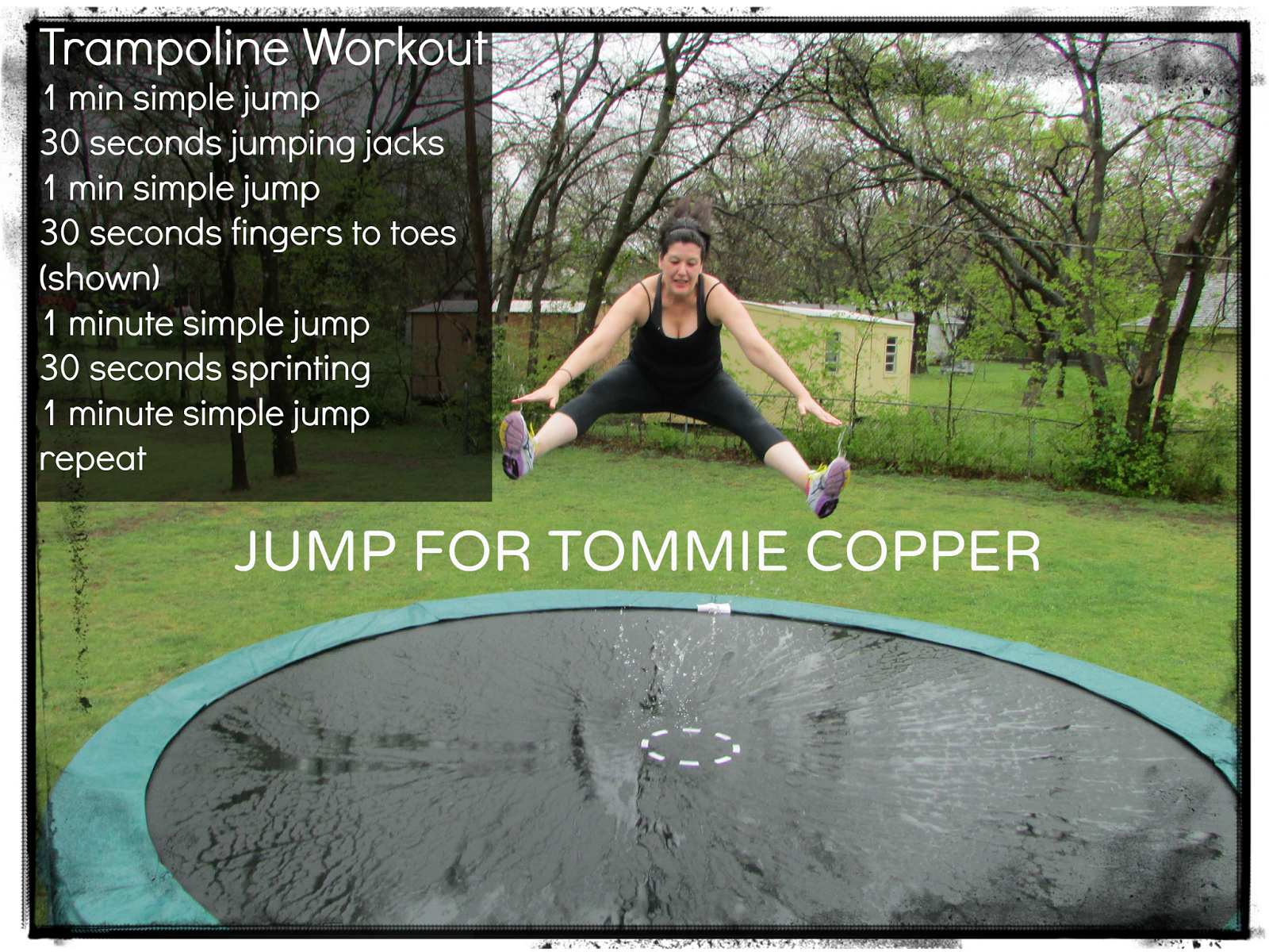 trampoline routines for weight loss