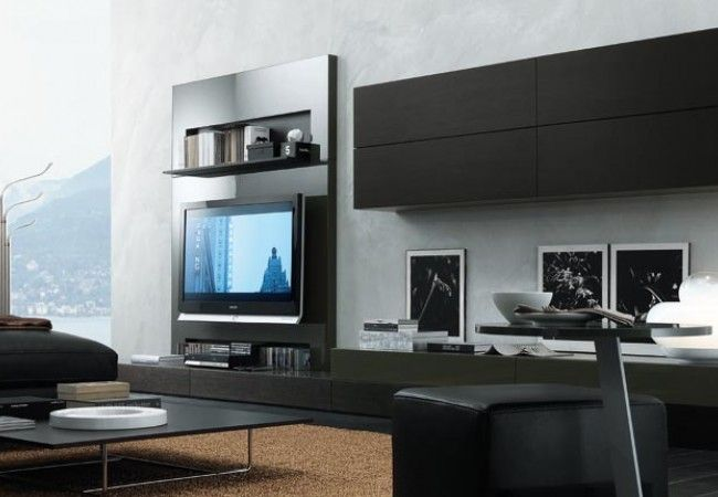 Jesse Open Meuble Audio Video Rangement Unites Murales Mobilier Contemporain Montreal Bedroom Wall Units Living Room Wall Units Living Room Tv Wall