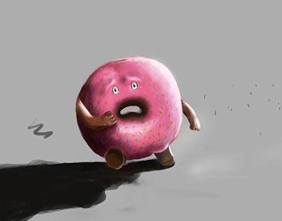 Ознакомьтесь с моим проектом в @Behance: «Donut»…