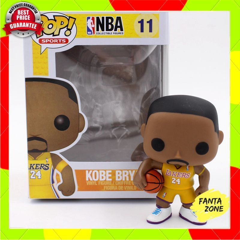 New Funko Pop Sports Nba Figures Kobe Bryant 11 Yellow Vinyl Figure Boxed Ebay Kobe Vinyl Figures Kobe Bryant