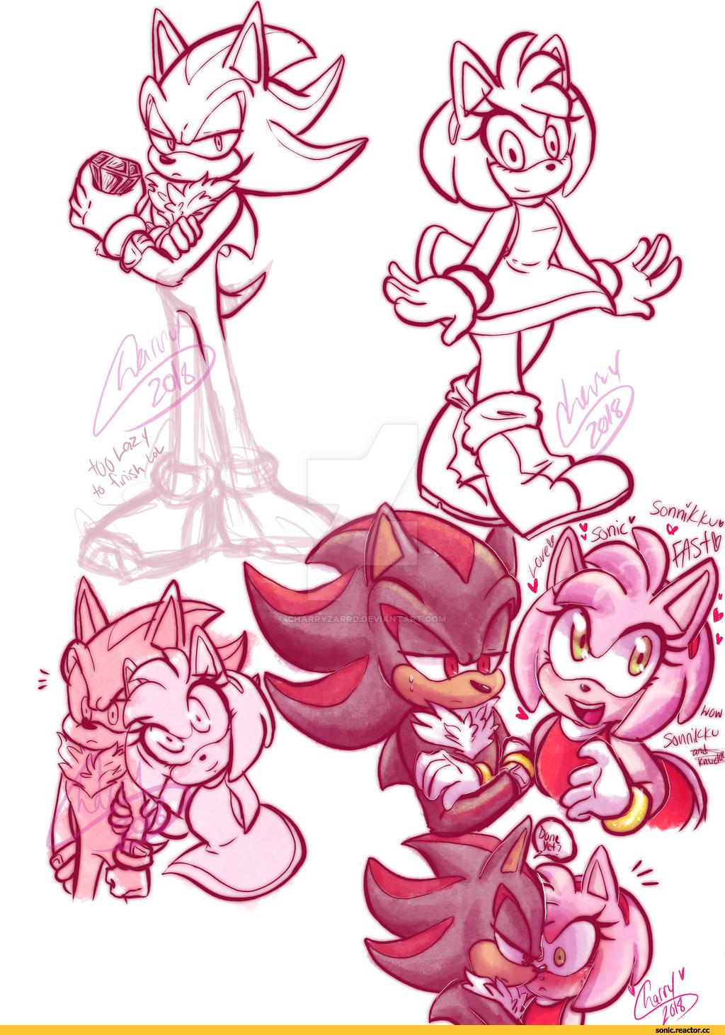 Sonic,соник, Sonic the hedgehog, ,фэндомы,Shadow the hedgehog,StH Персонажи,Amy Rose,Shadamy,StH art,StH Пейринги