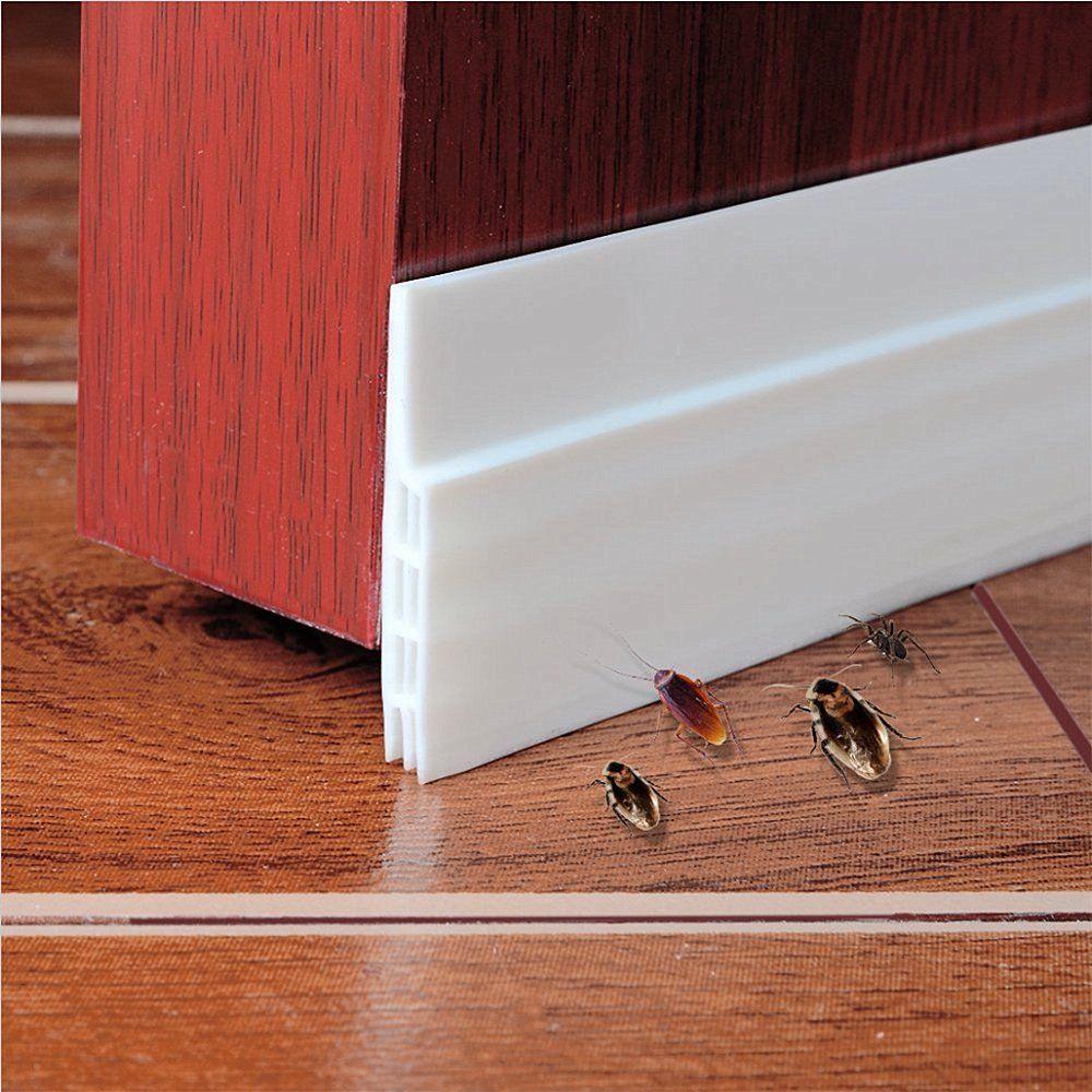 Self Adhesive Weather Stripping Door Bottom Seal Strip 2 W X 39 L White Walmart Com Walm Door Draught Stopper Door Sweep Garage Door Weather Stripping