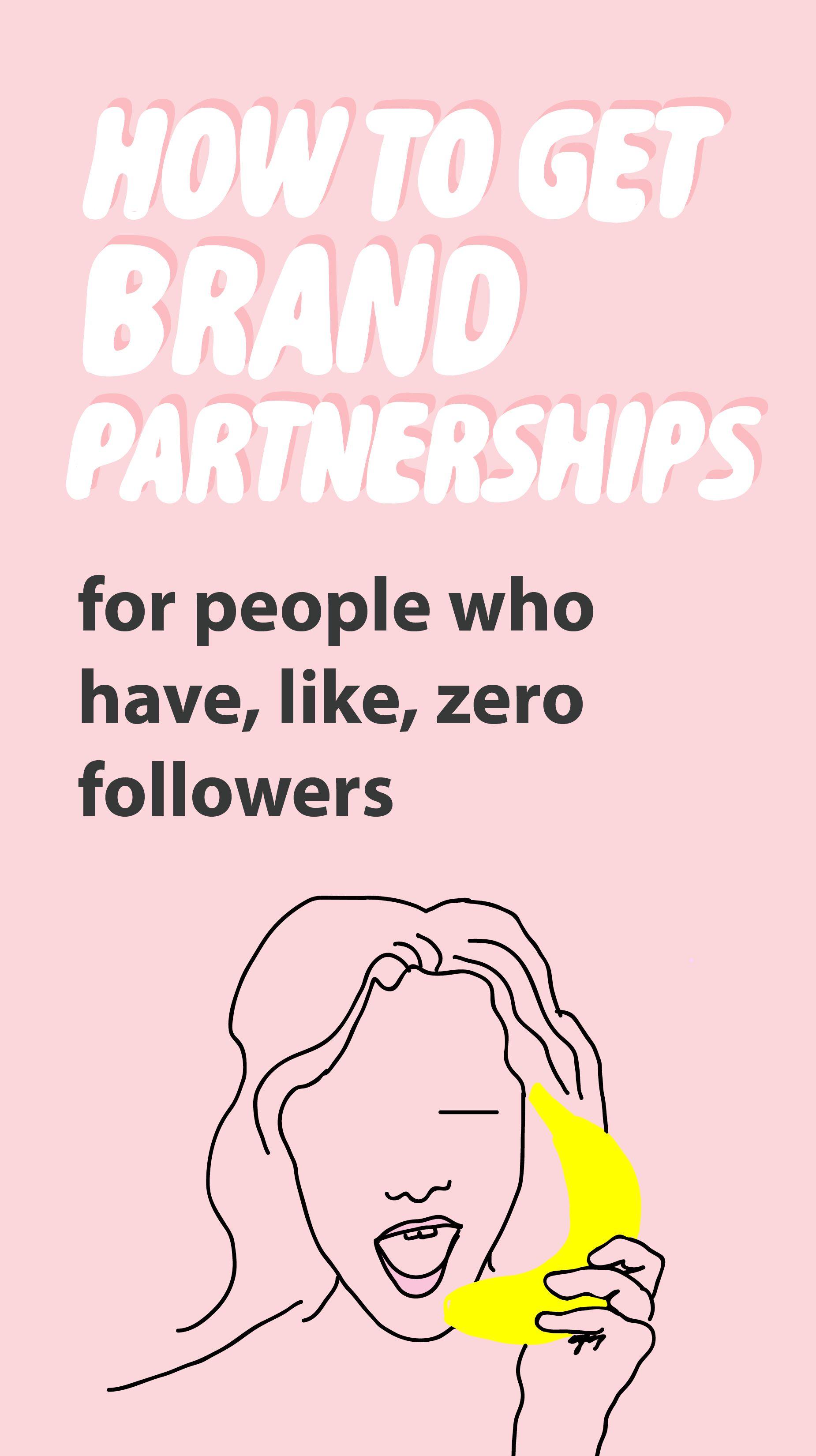 HOW TO GET BRAND PARTNERSHIPS EBook Brand partnership