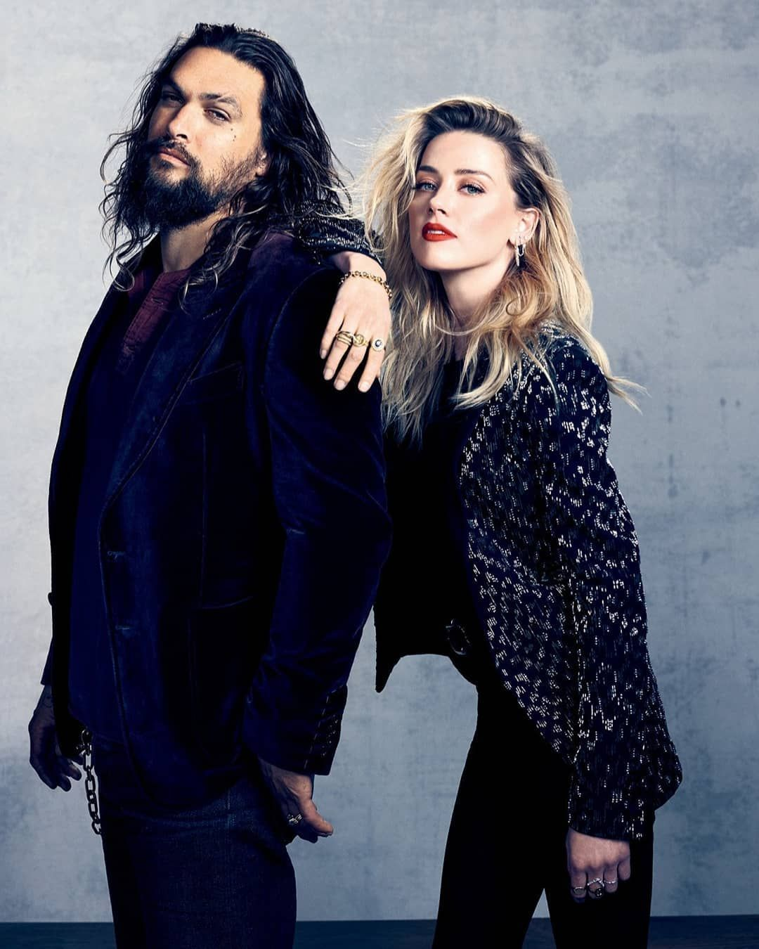 Jason Momoa And Amber Heard- The King And Queen Of