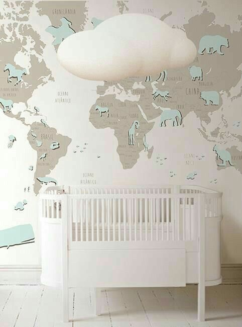 Pin by brenda colon on yariel rubn pinterest little hands wallpaper baby room design world map wallpaper nursery wallpaper wallpaper murals wall decal baby decor baby rooms la red gumiabroncs Gallery